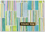 Thank You Note Cards Hampton Stripes