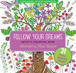 Artist Colouring Book Follow Dreams