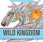 Artist Colouring Book Wild Kingdom