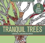 Artist Colouring Book Tranquil Trees