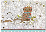Note Cards Owl