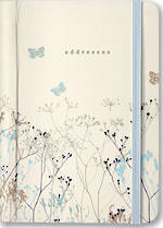 A6 Address Book Butterflies