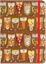 Small Journal Perching Owls