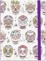 Medium Journal Sugar Skulls