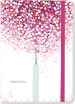 A6 Address Book Lollipop Tree