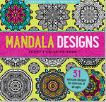 Artist Colouring Book Mandala Designs