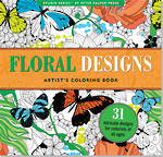 Artist Colouring Book Floral Designs