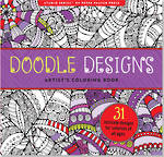 Artist Colouring Book Doodle Designs