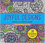 Artist Colouring Book Joyful Designs