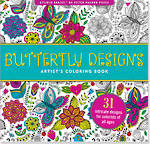 Artist Colouring Book Butterfly