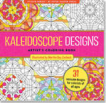 Artist Colouring Book Kaleidoscope