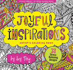 Artist Colouring Book Joyful Inspirations
