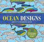 Artist Colouring Book Ocean
