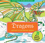 Artist Colouring Book Dragons