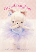Grandaughter Birthday Card Born To Stitch