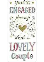 Engagement Card Neopolitan