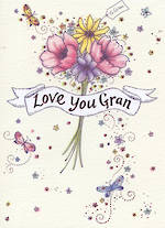 Grandmother Birthday Card Neapolitan Love You Gran