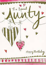Aunt Birthday Card: To A Special Aunty