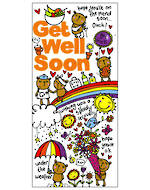 Get Well Card Little Scribblers