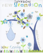 Baby Card Grandchild Joy New Grandson