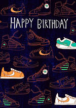 Space Age Birthday Sneakers