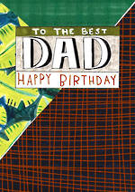 Dad Birthday Card Oh Boy Patterns