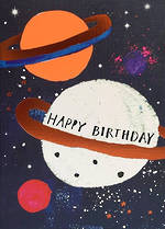 Space Age Birthday Planets
