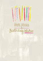 Whisper Hugs Kisses Birthday Wish