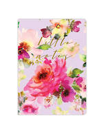 Lilac Bloom A6 Soft Cover Notebook