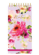 Lilac Bloom Tall Wiro List Pad
