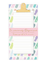 Pastel Patter Magnetic Shopping List Pad