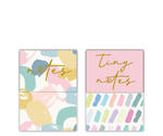 Pastel Patter Mini Magnetic Notebooks Display of 24