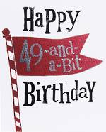 Age Card 50 Male Brightside Birthday
