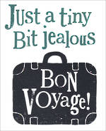 Bon Voyage Card: The Bright Side