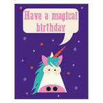 Ladiebirdy Birthday Unicorn