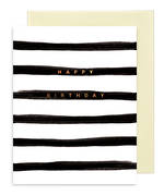 Rhys Mcardle Birthday Black Stripe