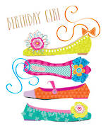 Sherbet Dip Birthday Girl Shoes