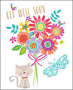 Get Well Card Sherbet Dip