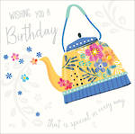 Spotlight Birthday Floral Teapot