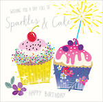Spotlight Birthday Sparkles Cake