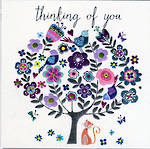 Thinking of You Card: Sherbet Dip