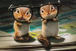 Avanti Chipmunks And Glasses