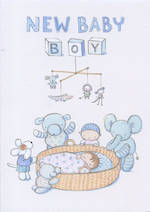 Baby Card Boy: Tamsin New