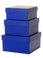 Medium Gift Box Nest 8 Blue