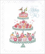 Kitchen Tea Card High Tea