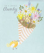 Aunt Birthday Card: Simson Lovely Aunty