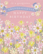 Grandaughter Birthday Card: Gorgeous Daisies