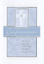 Confirmation Card Blue Cross