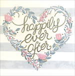 Wedding Card Love Happily Ever After