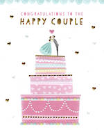 Wedding Card With Love Congratulations